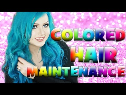 KEEP COLORED HAIR BRIGHT - EASY HAIR HACK FOR PASTEL & VIBRANT HAIR COLORS