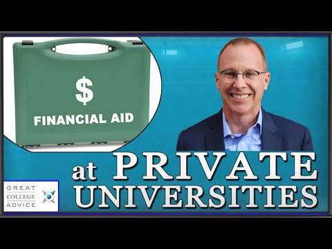 College Admissions Expert on Financial Aid at Private Universities