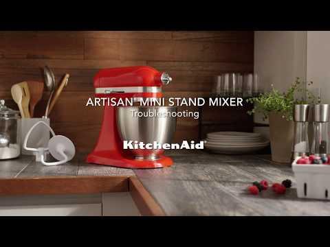 How to: Troubleshoot the Artisan Mini | KitchenAid Artisan Mini