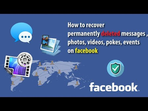 How to recover permanently deleted messages on Facebook