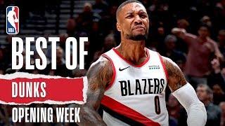 NBA's Best Dunks from Opening Week   2019-20 NBA Season