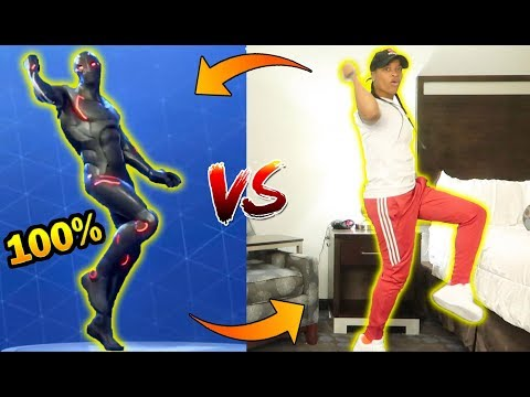 FORTNITE DANCE CHALLENGE!! (IN REAL LIFE)