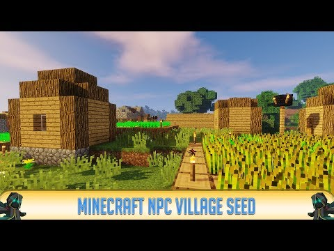 Minecraft 1.12.2 Seeds: Epic NPC Village at Spawn Seed | Best Village Seed | Minecraft 1.12.2 | 2018