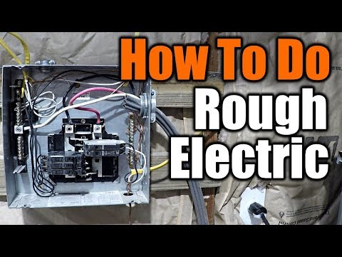 How To Do Rough Electric | THE HANDYMAN |