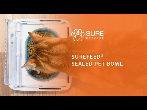The SureFeed Sealed Pet Bowl from SureFlap