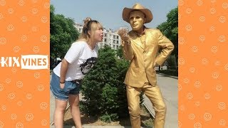 Funny videos 2018 ✦ Funny pranks try not to laugh challenge P22