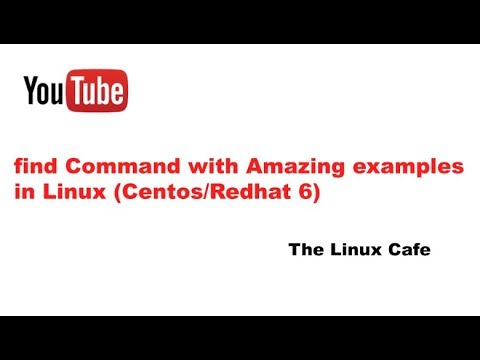 find Command with Amazing examples in Linux (Centos/Redhat 6)