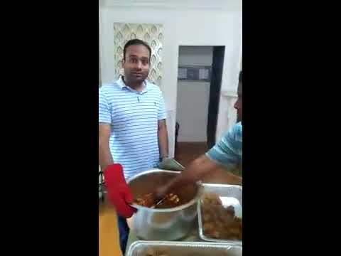 Chicken Korma Prepared by IT Group of RI Part 3 for 25th Iftar at Masjid Al Islam  | Ramadan