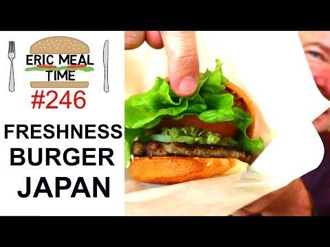 Freshness Burger Japan - Eric Meal Time #246
