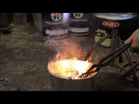 Beginners Heat treating SUP9 / 5160 steel