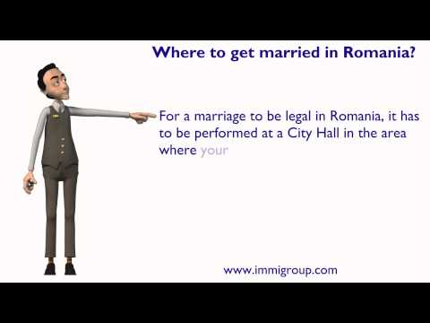 Where to get married in Romania?