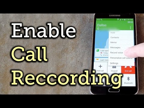 Enable Call Recording on a Samsung Galaxy S5 [How-to]