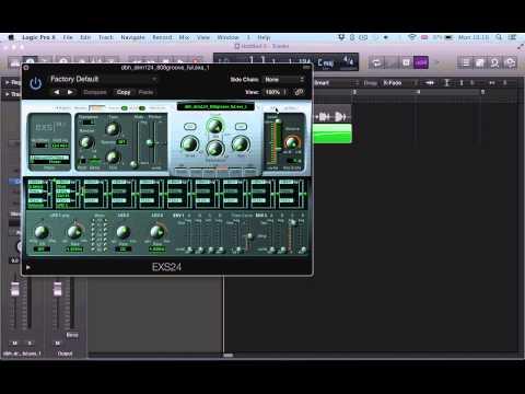Logic Pro X (10.1) tutorial - Creating One Shots Zones Shortcut