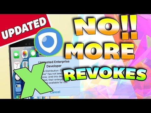 NEW How To STOP Apps Getting Revoked / Crashing iOS 9 / 10 / 11 NO Jailbreak NO PC iPhone iPad iPod