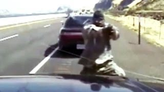 Download Deadly gunbattle with state trooper - caught on tape Video