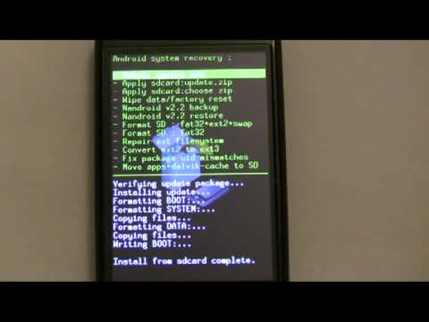 HTC Magic FLashing Hero ROM Step by Step