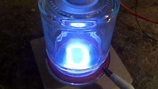 Download Demonstration of magnetron plasma Video