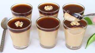 عندك نصف لتر حليب وشوية دقيق وجدي أسرع تحلية رمضان بدون فرن بدون بيض بدون نشا أو كريم باتسيير Toop😋