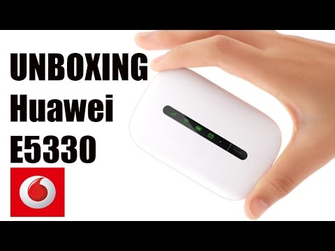 Unboxig Huawei E5330 or Vodafone mobile wi-fi R207 hotspot router