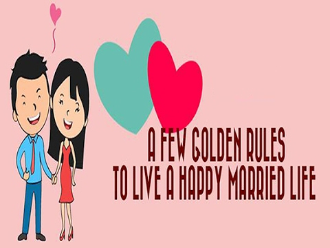 A Few Golden Rules To Have a Happy Married Life
