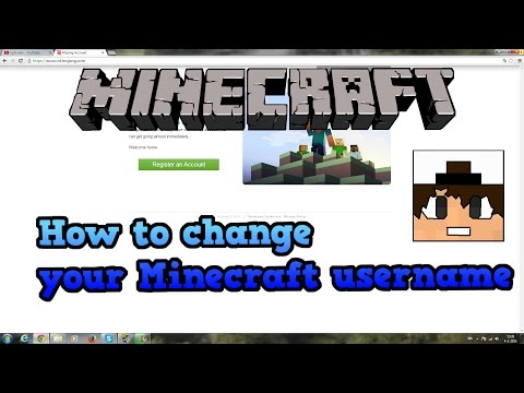 Minecraft   How to change your Username   English   Mojang Update