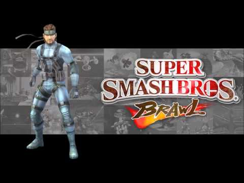 Super Smash Bros Brawl - Theme of Solid Snake - (HD)