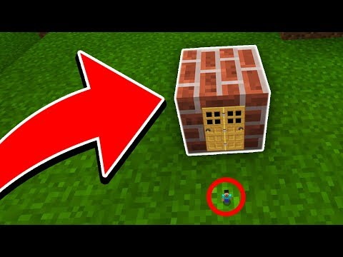 How To Live Inside a BLOCK in Minecraft! (Better Together Update)