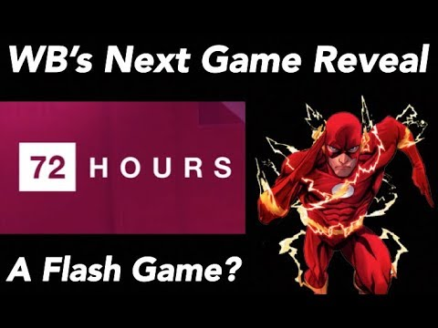WB's Next Game Reveal in 72 Hours! (The Flash?)