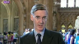 Jacob Rees Mogg No deal with EU is a glorious opportunity