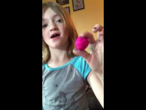 How to make a play doh bouncy ball