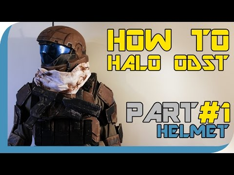 HOW TO: Halo Reach ODST Costume  ( PART 1 : Helmet )