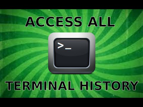 Access all Terminal History in Linux Mint 17