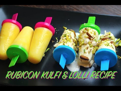 RUBICON KULFI & LOLLY RECIPE *COOK WITH FAIZA*