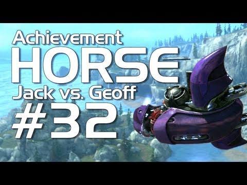 Halo: Reach - Achievement HORSE #32 (Jack vs. Geoffrey)   Rooster Teeth