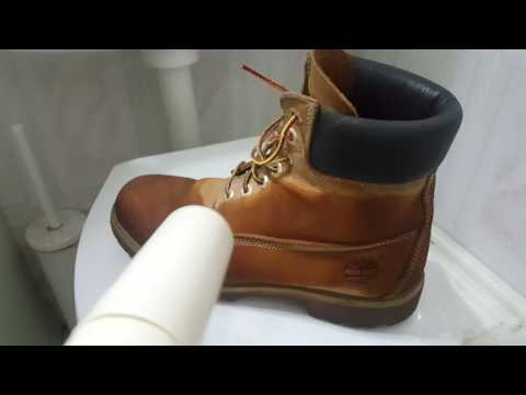 Method to dry timberland shoes