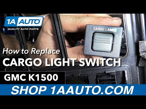 How to Replace Install Cargo Lamp Switch 1996 GMC Sierra Buy Quality Auto Parts at 1AAuto.com