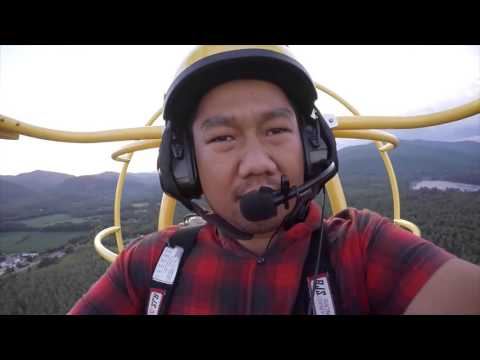 Flying a powered parachute