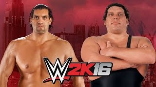 The Great Khali vs  Andre The Giant