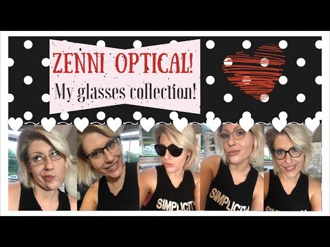 Zenni Optical Review and Haul!  My Glasses Collection!