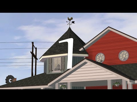 The Sims 2 - Riverblossom Hills - 125 Huckleberry Lane - Part 1