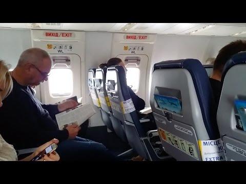 FLIGHT REPORT / UKRAINE INTERNATIONAL 737-800 / WARSAW - KIEV