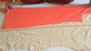 Simple dress cutting on astar