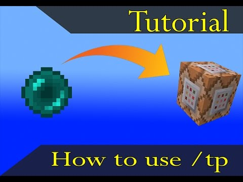 How to use /tp in a /execute command in Minecraft 1.11.2!