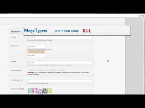 MEGATYPER  Protypers Invitation Code (official)
