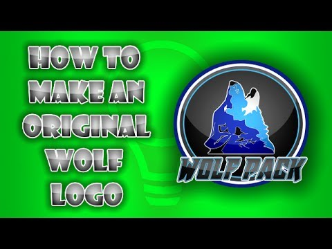 [AWESOME!!!] WOLF LOGO  - With paint.net