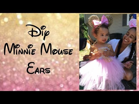 DIY party decor | Minnie Mouse Ears