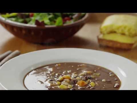 How to Make Vegan Black Bean Soup | Soup Recipe | Allrecipes.com