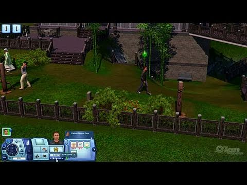 The Sims 3: World Adventures PC Games Gameplay - At the