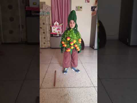 BRUHATH as aTREE for fancy dress competition