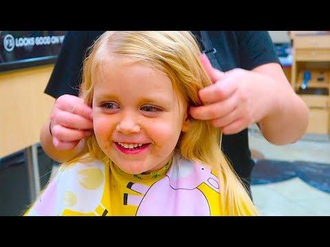 LITTLE GIRL HAIRCUT SURPRISE!